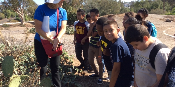 Jacobs Center launches education project with Knox Middle School and Groundwork San Diego